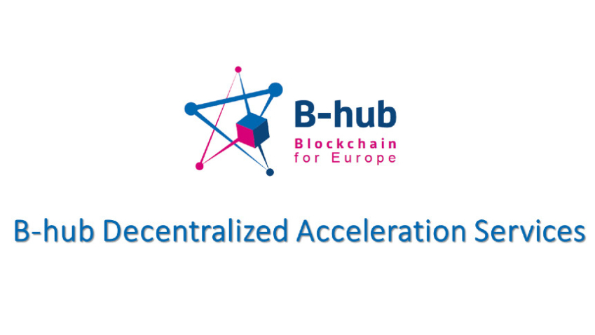 Visual for article on B-hub decentralized acceleration services