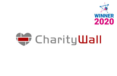 Blockchain startups in Italy - Charity Wall